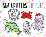 Sea Critters DIE CUTS