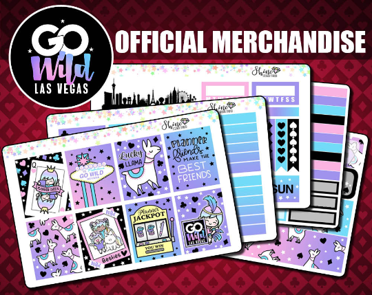 Luna GO Wild Vegas - Weekly Sticker Kit