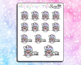 Luna Meal Time Stickers