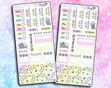Luna Hello Spring - Hobonichi Weeks Sticker Kit