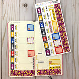 Go to the Movies - Hobonichi Weeks Sticker Kit