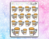 Luna Pumpkin Spice Stickers
