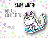 Star's Winter DIE CUTS