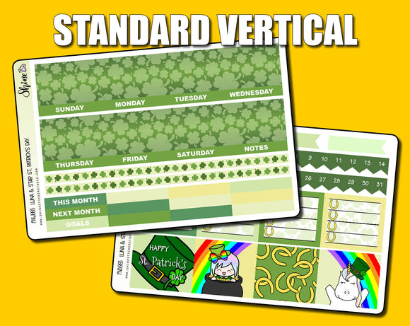 Undated St. Patrick's Day Monthly Kit - Standard Vertical