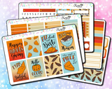 Thanksgiving Weekly Sticker Kit
