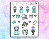 Luna Tiffany's Stickers