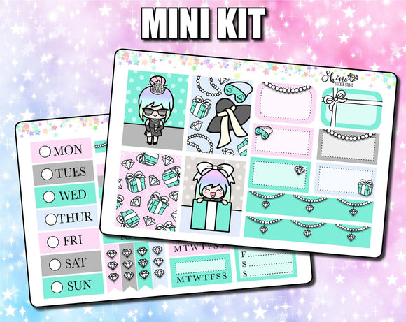 Luna Tiffany's - Mini Sticker Kit Print Pression Weeks