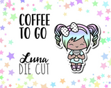 Coffee To Go Luna DIE CUT