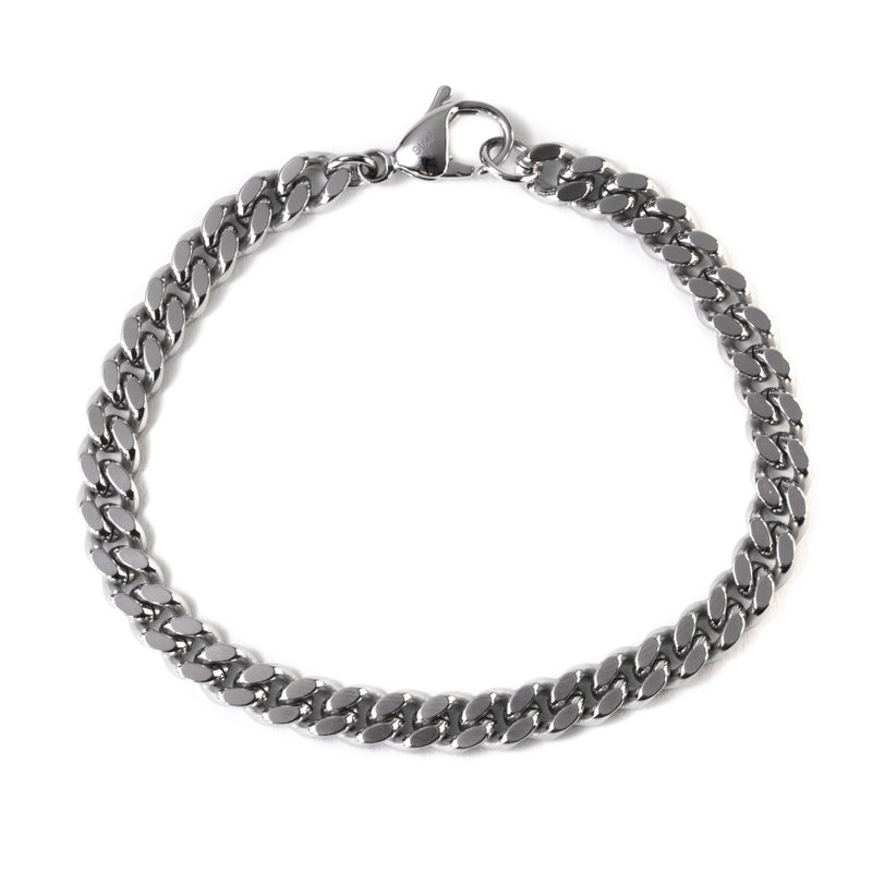 Diamondcut Curb Chain Bracelet