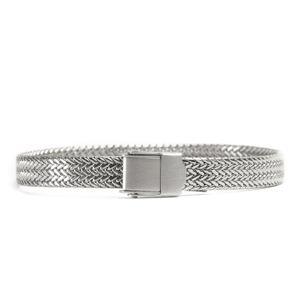 Adjustable Buckle Mesh Bracelet