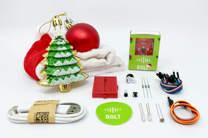 IoT and ML Training with Christmas Special Hardware Kit