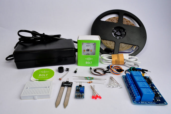 Smart Home and Garden Training with Hardware Kit