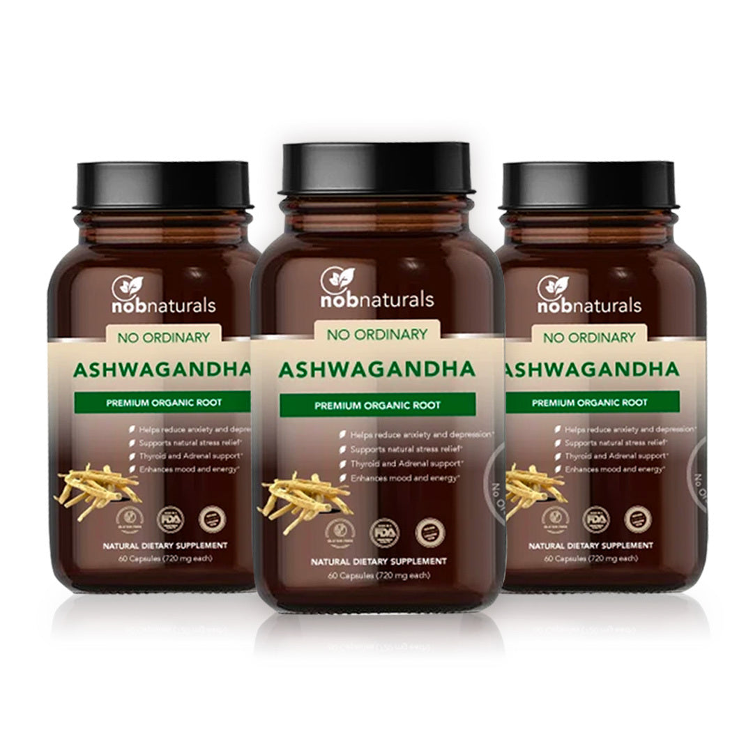 No Ordinary Ashwagandha - pack of 3