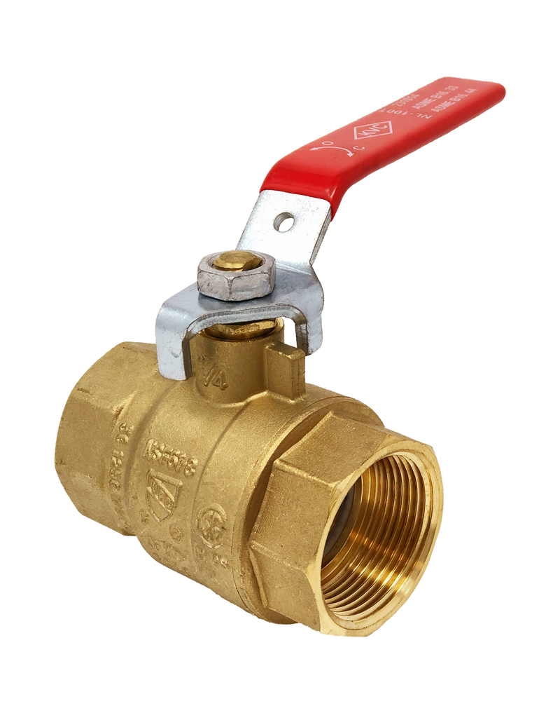 100T 600 WOG FULL PORT FORGED BRASS BALL VALVE THREADED ENDS