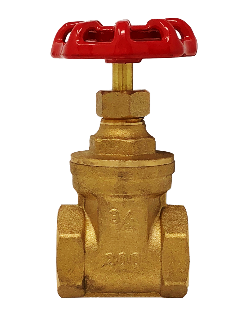 102T 200 WOG FORGED BRASS NRS GATE VALVE NPT ENDS