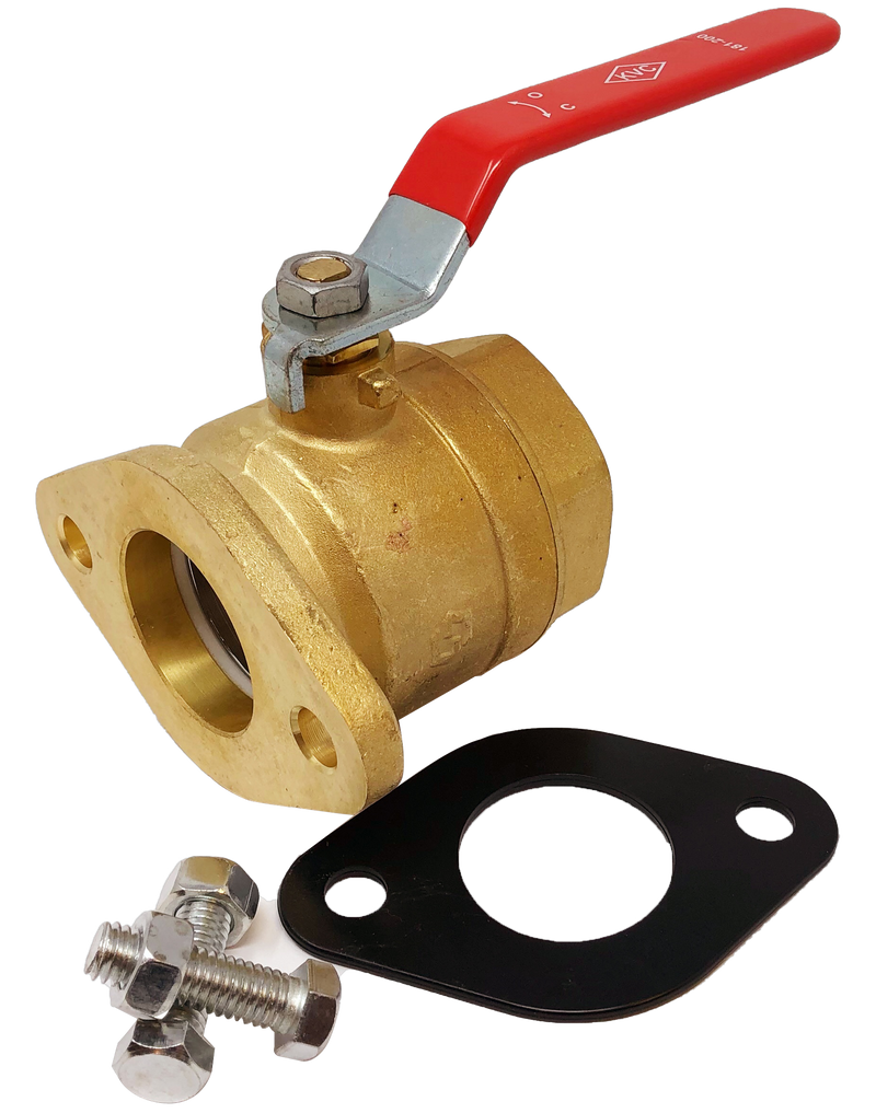 181-200 600 WOG FLANGED BRASS PUMP ISOLATION VALVE