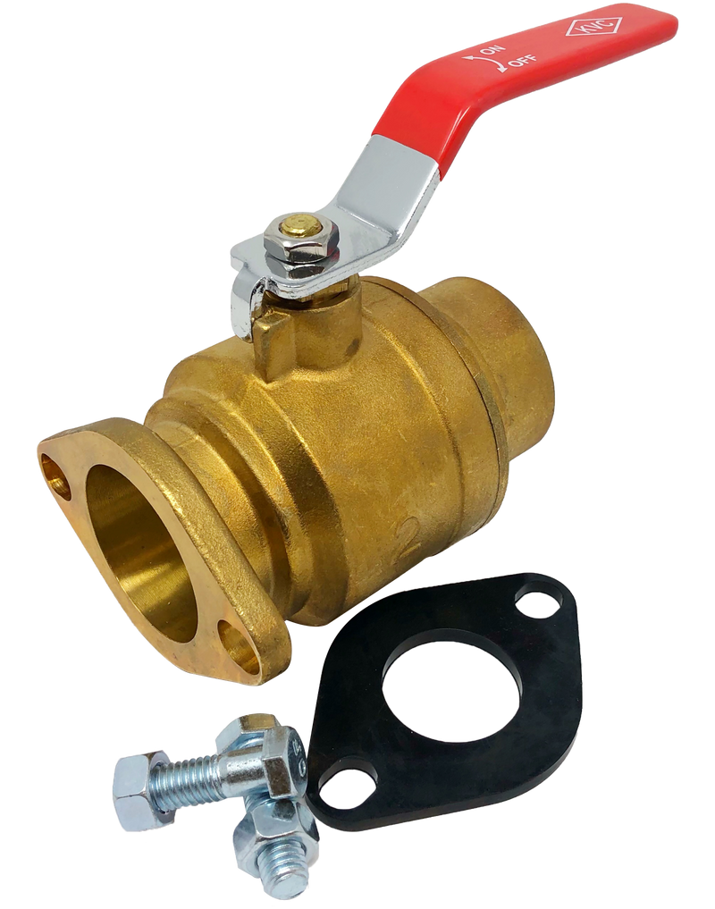 182-200 600 WOG FLANGED BRASS PUMP ISOLATION VALVE