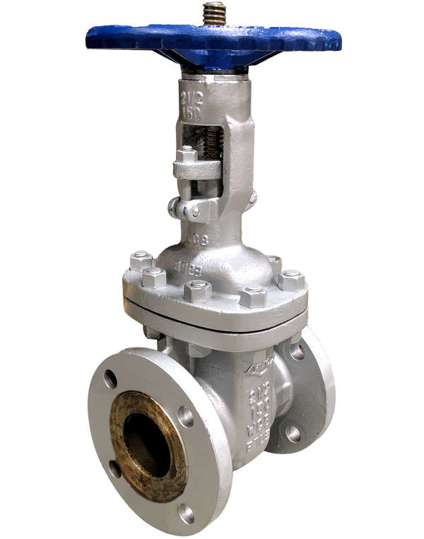 272-CS-150 Class 150 CAST STEEL GATE VALVE FLANGED ENDS BOLTED BONNET WCB BODY & BONNET 13Cr/HF TRIM