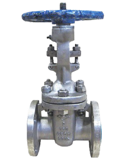 272-SS-150 CLASS 150 STAINLESS STEEL GATE VALVE FLANGED ENDS BOLTED BONNET 316 SS BODY AND BONNET