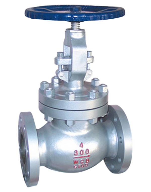 276-CS-300 CAST STEEL GLOBE VALVE CLASS 300 FLANGED ENDS BOLTED BONNET WCB BODY & BONNET 13Cr/HF TRIM
