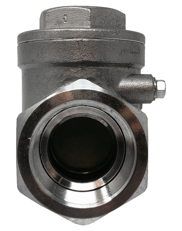 2CKTS 200 WOG STAINLESS STEEL SWING CHECK VALVE THREADED ENDS