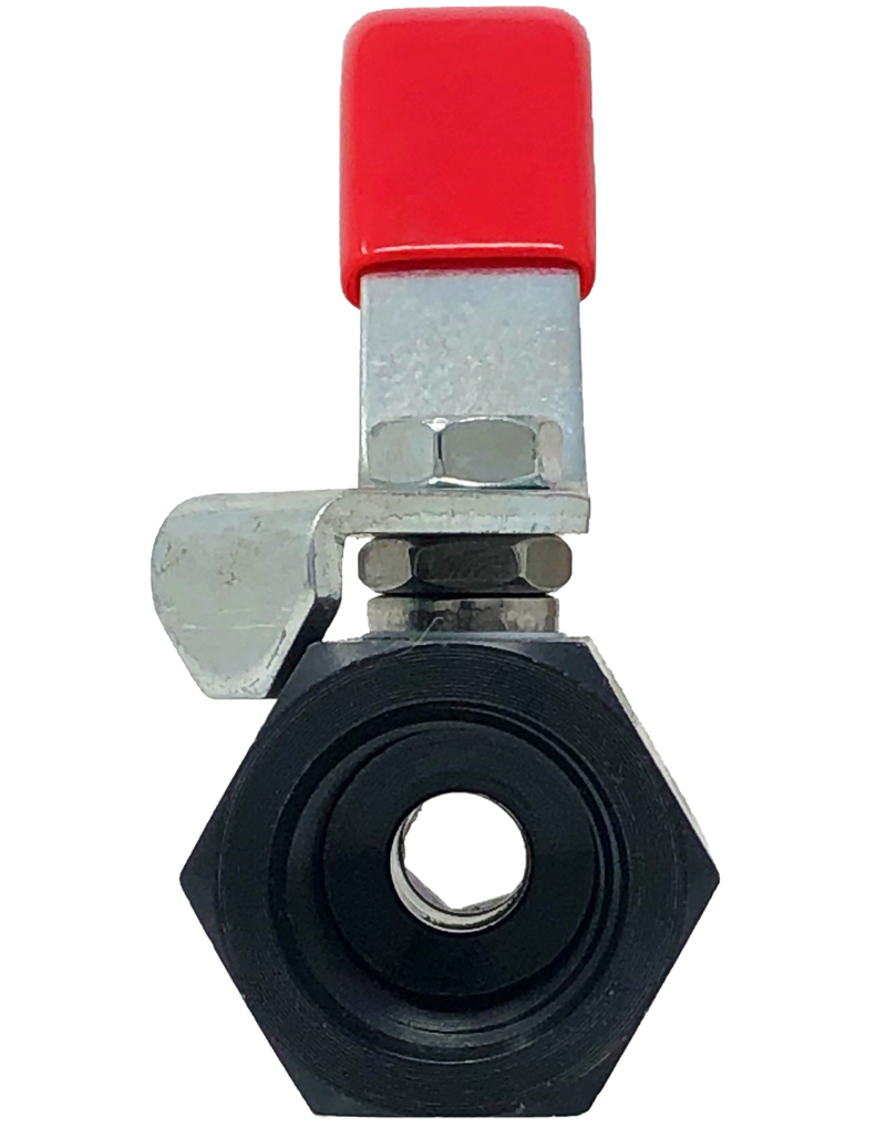 A-122T 2000 WOG 1-PIECE REDUCED PORT BALL VALVE THREADED ENDS BARSTOCK BODY
