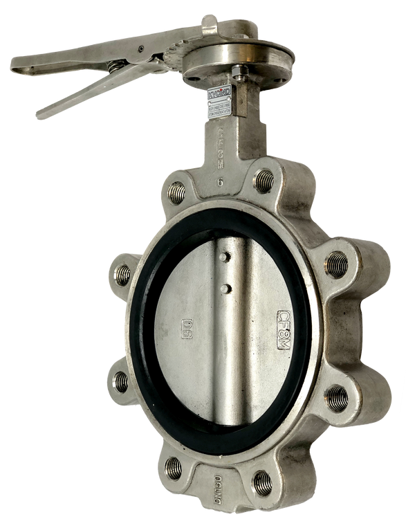 BL-2000-22 Series 200 WOG LUG STYLE STAINLESS STEEL BUTTERFLY VALVE