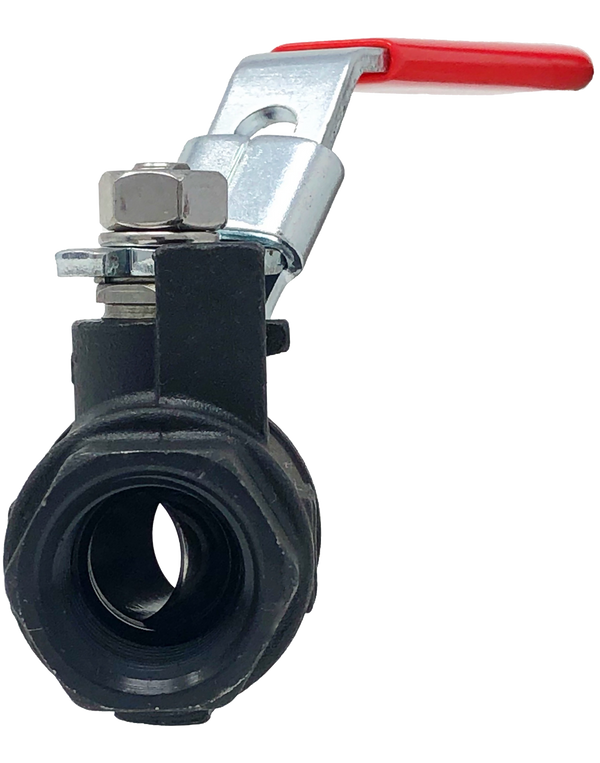 C-292T 2-PIECE CARBON STEEL BALL VALVE THREADED ENDS FULL PORT