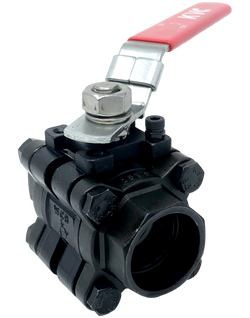 C-301S 1000 WOG 3-PIECE BALL VALVE FULL PORT SOCKET WELD ENDS