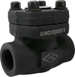 FPC-810T(S) CLASS 800 FORGED STEEL PISTON CHECK VALVE THREADED(SOCKET WELD) ENDS BOLTED COVER