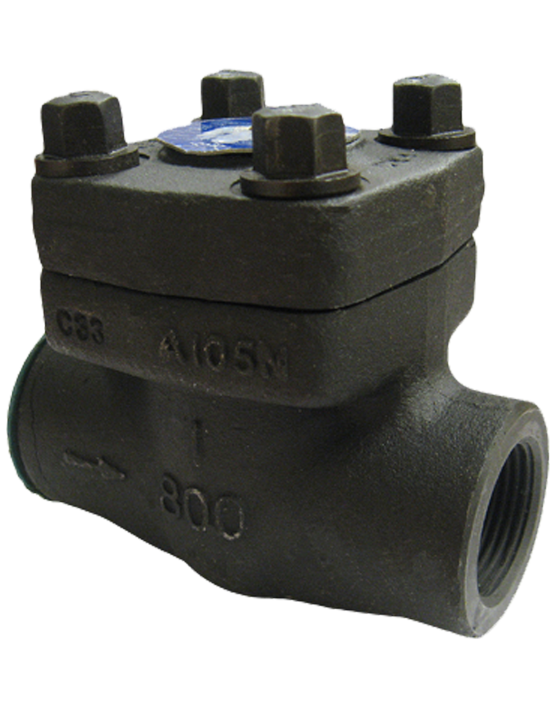 FSC-811T(S) CLASS 800 FORGED STEEL SWING CHECK VALVE THREADED(SOCKET WELD) ENDS BOLTED COVER