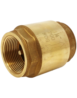 NL-161T 200 WOG LEAD FREE BRASS SWING VERTICAL CHECK VALVE NPT END