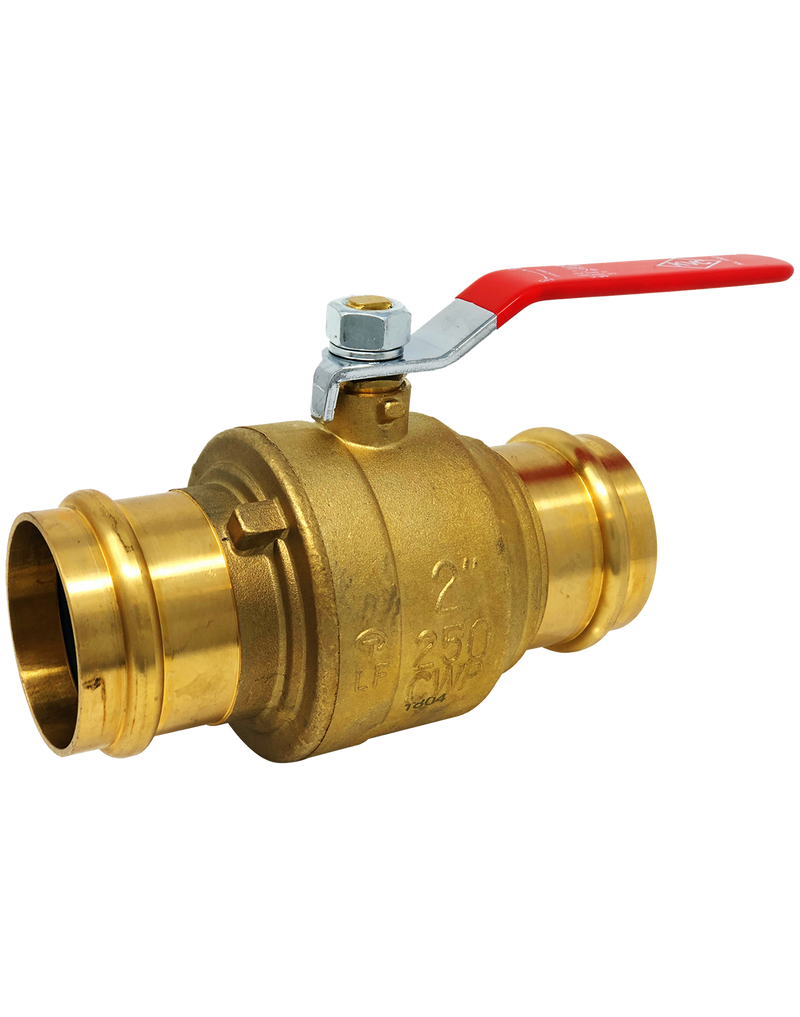 NL-1907 250 WOG LEAD-FREE FULL PORT FORGED BRASS PROPRESS BALL VALVE