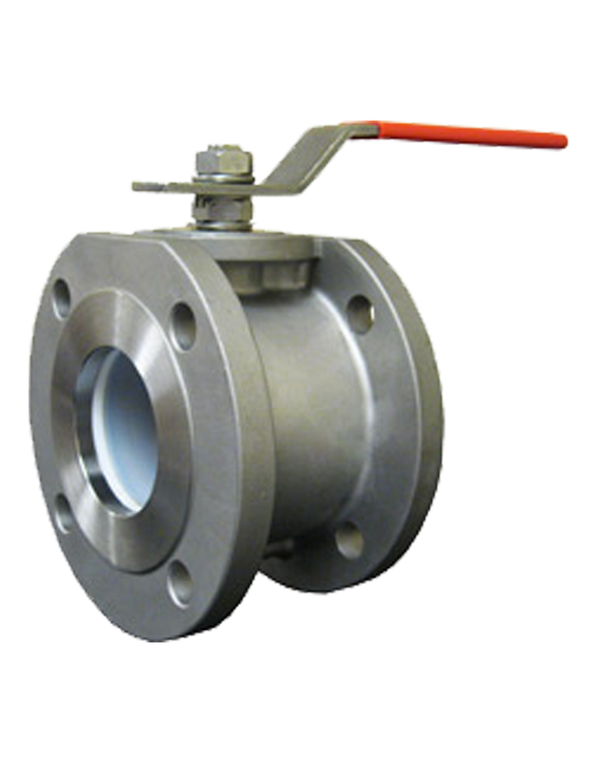 S-135W CLASS 150 FULL PORT STAINLESS STEEL BALL VALVE FLANGED ENDS ISO 5211 DIRECT ACTUATOR MOUNTING PAD