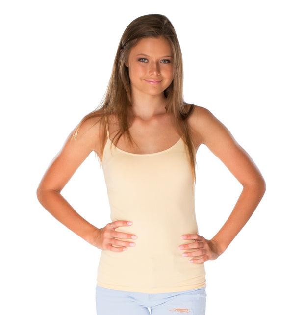 Solid Full Cami for Teens and Women