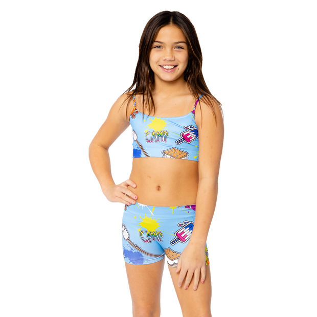 CAMP 2020 Boy Shorts for Tweens 7-14