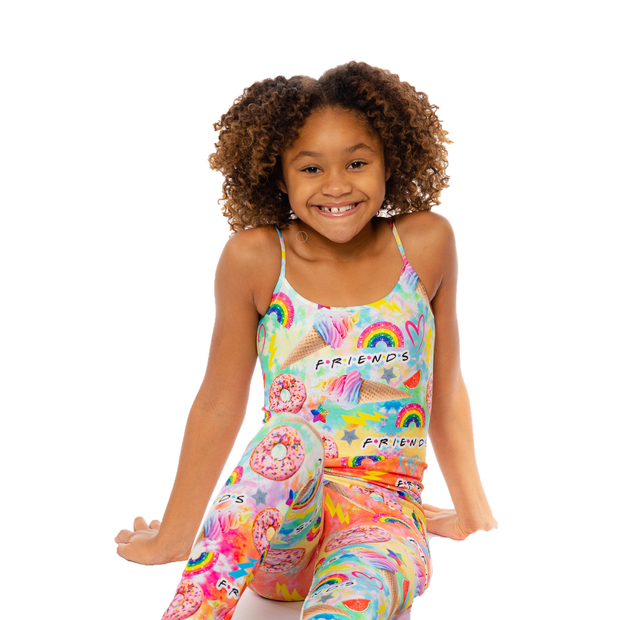 Tie Dye Friends Full Cami for Girls 7-10