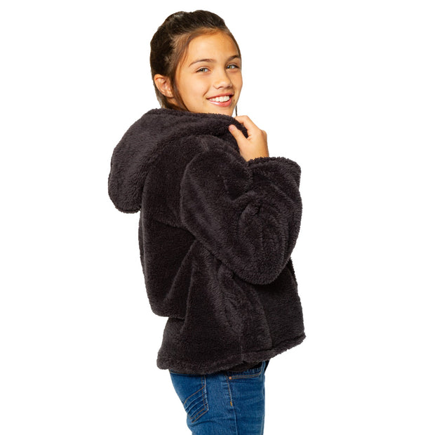 Teddy Bear Hooded Jacket for Tweens 7-14