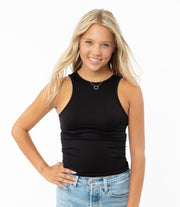 Ribbed Tank Top - Junior