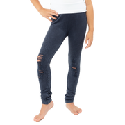 Distressed Moto Leggings for Girls 7-14
