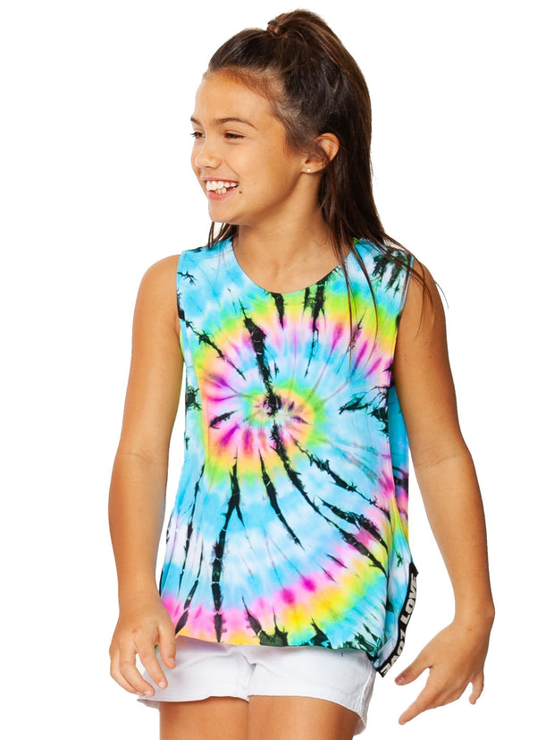SL TD Top w/LOVE Trim for Tweens 7-14