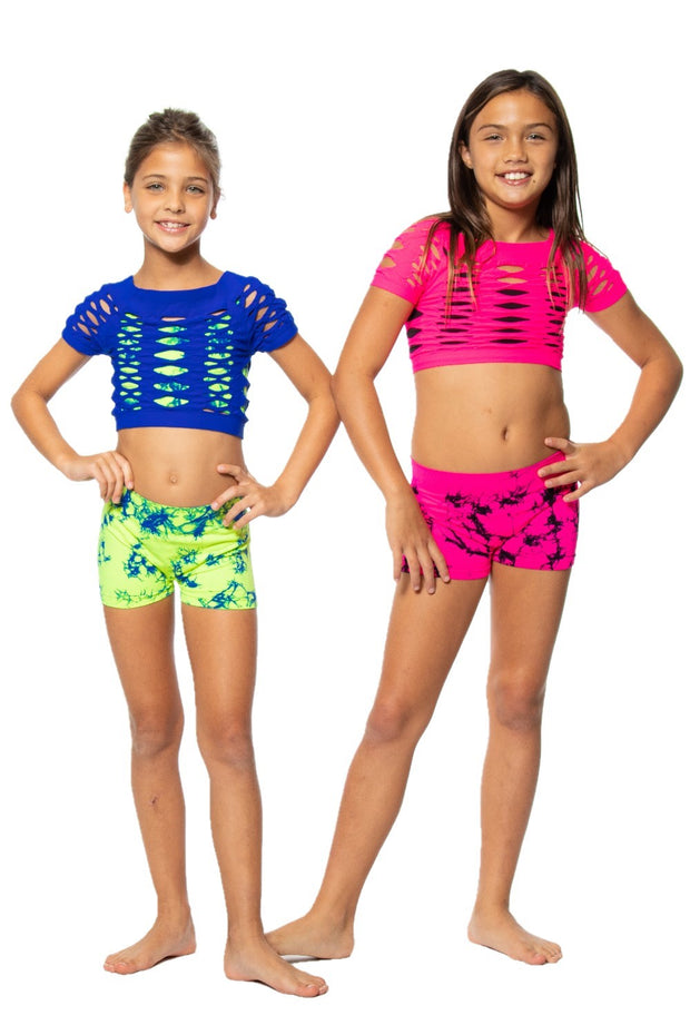 SS Malibu Mesh Top for Girls 7-14