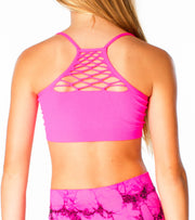Peek A Boo Bra Cami for Tweens 7-14