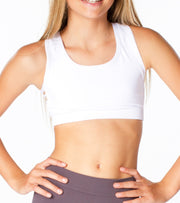 Side Line Sports Bra for Tweens 7-14
