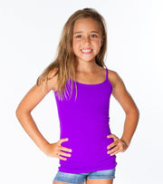 Spaghetti Strap Full Cami for Little Girls 4-6x