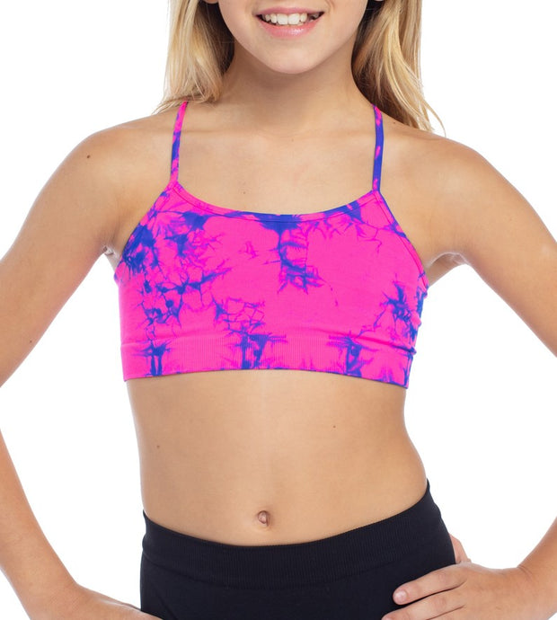 Tie Dye Bra Cami for Little Girls 4-6x
