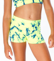 CHEER Tie Dye Boy Shorts for Itty Bitty