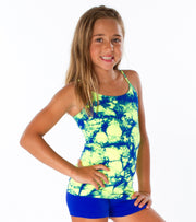 Tie Dye Full Cami for Little Girls 4-6x