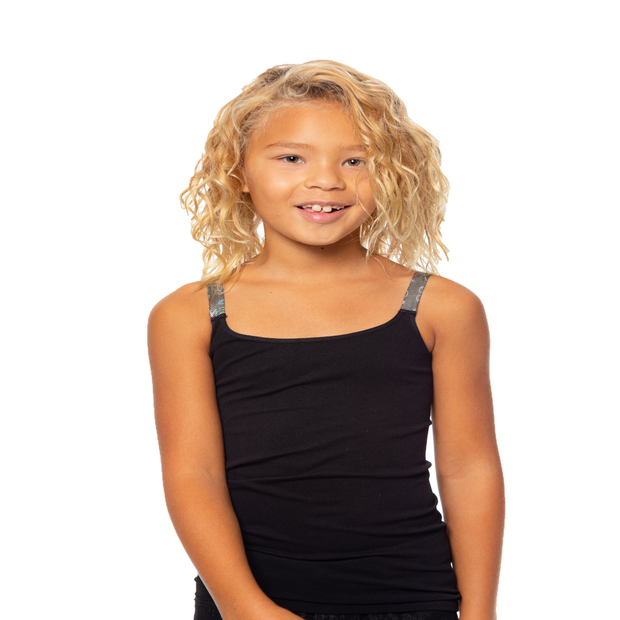Full Cami w/ Hologram Elastic Straps for Tweens 7-10