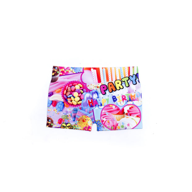 """It's My Birthday!"" Boy Shorts for Little Girls"